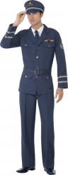 Flugkapitän-Kostüm für Herren