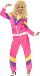 Sportliches 80er-Jahre-Kostüm für Damen