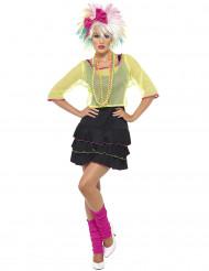 80er-Jahre Pop-Kostüm für Damen