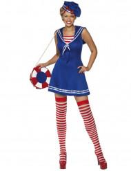 Tolles Matrosen-Kostüm für Damen