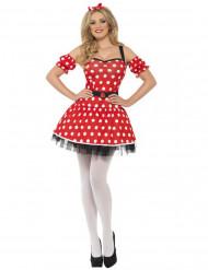 Mäuschen-Kostüm für Damen