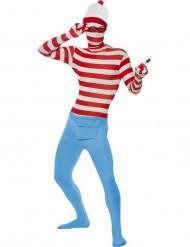 Hautenges Wo ist Walter™-Kostüm für Erwachsene