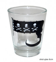 Piraten-Shot-Glas