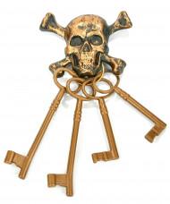 Piraten-Schlüsselbund