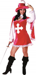 Musketier-Kostüm für Damen