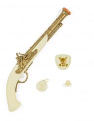 Weißes Piratenset 4-teilig Waffen-Spielzeug