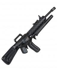 Aufblasbares Spielzeug Maschinengewehr für Erwachsene schwarz