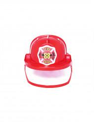Roter Feuerwehr-Helm für Erwachsene