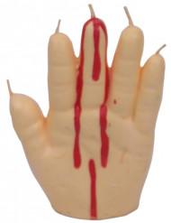 Blutende Hand - Kerze
