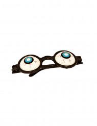 Brille mit Glupschaugen