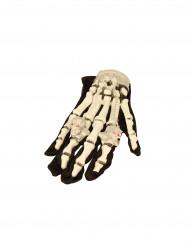 Leuchtende Skelett-Handschuhe