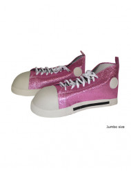 Rosa Clown-Schuhe