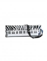 Aufblasbares Klavier