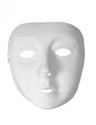 Weiße Maske für Kinder