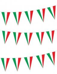 Girlande mit Italien-Fahnen