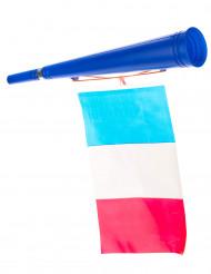 Fußball-Tröte mit Frankreich-Flagge
