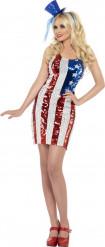USA-Kostüm für Damen