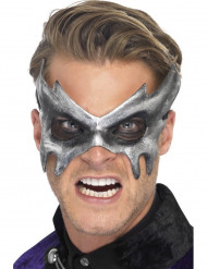 Graue Geister-Augenmaske für Erwachsene