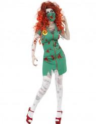 Halloween Zombie-Arzthelfer-Kostüm für Damen