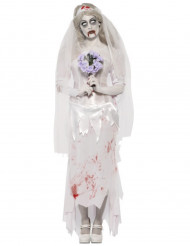 Halloween Zombie-Braut-Kostüm für Damen