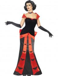 Halloween Fledermaus-Vampir-Kostüm für Damen