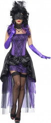 Sexy lila Gräfinnen-Kostüm für Damen