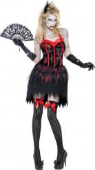 Halloween Zombie-Burleske-Kostüm für Damen