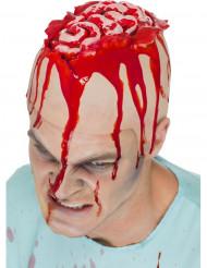 Offenes blutiges Gehirn für Erwachsene Zombie Halloween