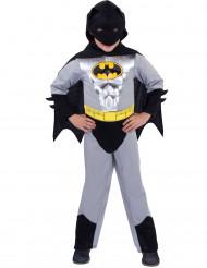 Klassisches Batman™-Kostüm Silber für Jungen