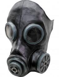 Schwarze Gasmaske für Erwachsene