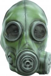 Grüne Gasmaske für Erwachsene