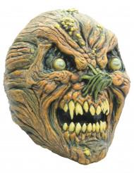 Verdorbener Kürbis Halloween-Maske für Erwachsene
