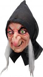 Halloween Hexen-Maske für Erwachsene