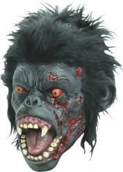 Halloween Schimpansen-Zombie-Maske für Erwachsene