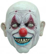 Glatzköpfige Clowns-Maske für Erwachsene