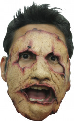 Massenmörder-Halbmaske Halloween