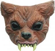 Halloween Werwolf-Halbmaske für Erwachsene