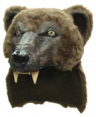 Braunbär-Maske für Erwachsene