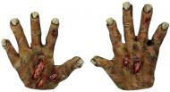 Halloween Zombie-Handschuhe für Erwachsene