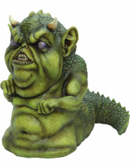 Grünes Halloween-Monster