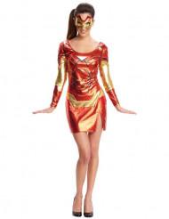 Kostüm Iron Man™ Damen rot und sexy