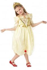 Belle™-Kostüm mit Diadem für Mädchen