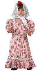 Madrileninnen-Kostüm für Babys