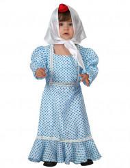 Blaues Madrilenen-Kostüm für Babys