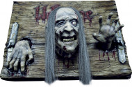 Halloween Zombie-Willkommens-Schild