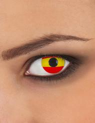 Kreative Spanien-Kontaktlinsen