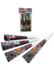 4 Monster High™ Trompetten