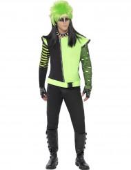 Grüne Gothic Elfen-Jacke für Herren