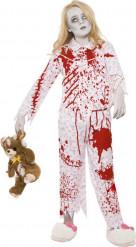 Halloween Zombie-Pyjama-Kostüm für Mädchen