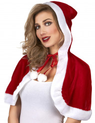 Süßer Miss Santa Mini-Umhang für Damen